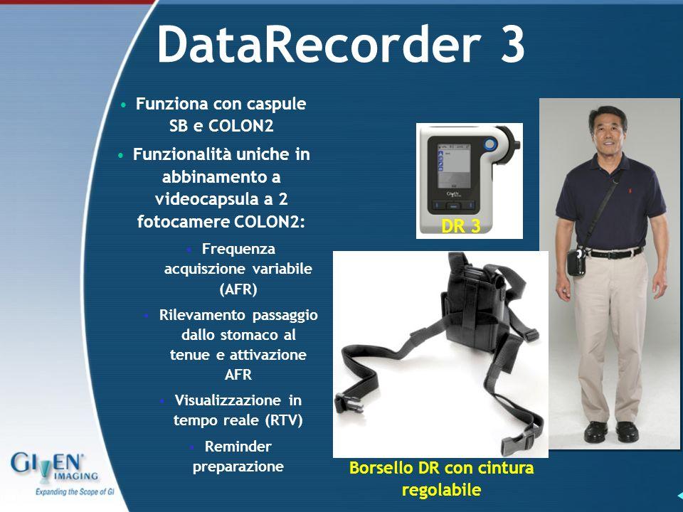 DataRecorder 3 DR 3 Funziona con caspule SB e COLON2