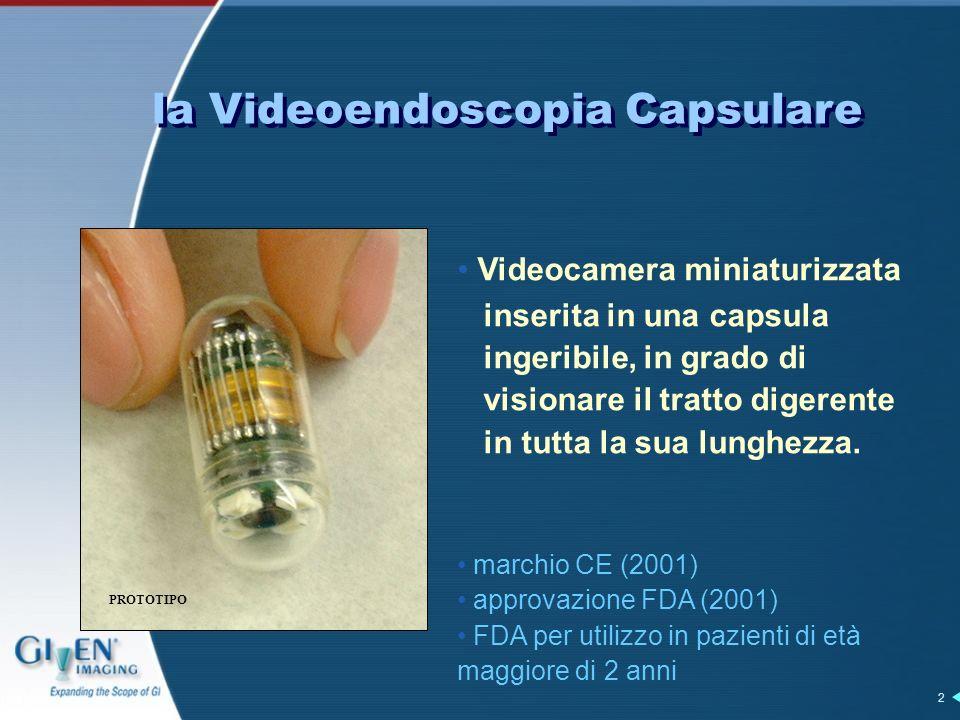 la Videoendoscopia Capsulare