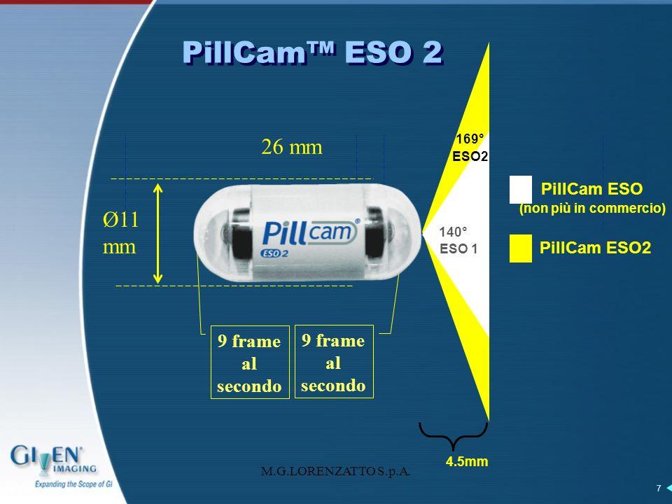 PillCam ESO (non più in commercio)