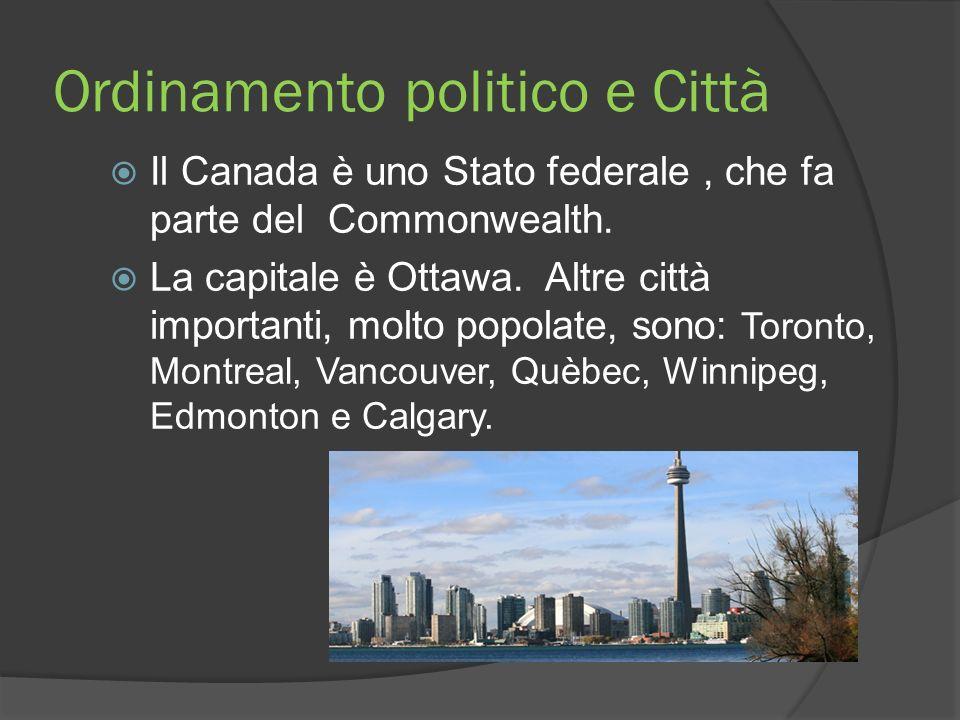 Ordinamento politico e Città