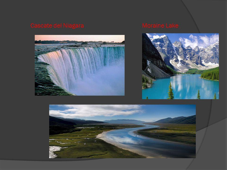 Cascate del Niagara Moraine Lake
