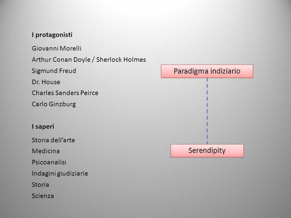 Paradigma indiziario Serendipity I protagonisti Giovanni Morelli