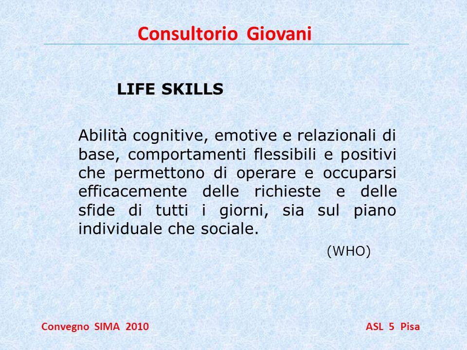 Consultorio Giovani LIFE SKILLS