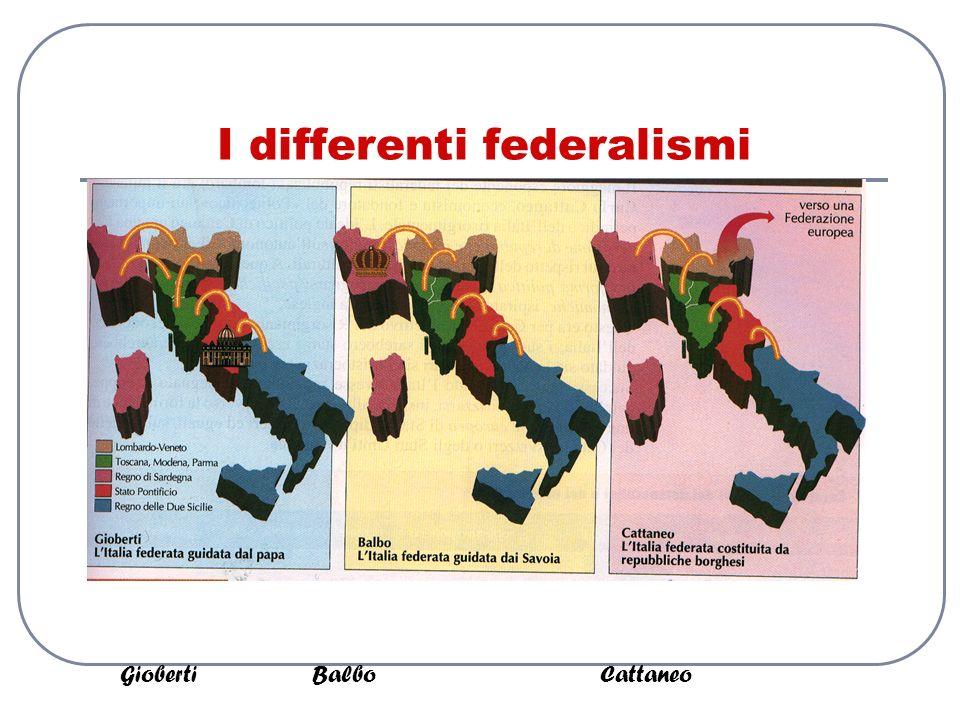 I differenti federalismi