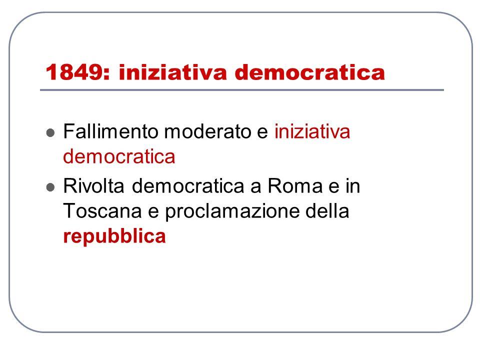 1849: iniziativa democratica