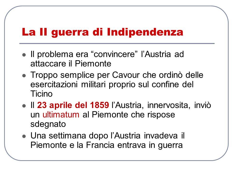 La II guerra di Indipendenza