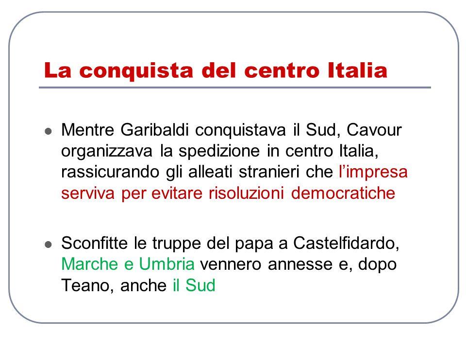 La conquista del centro Italia