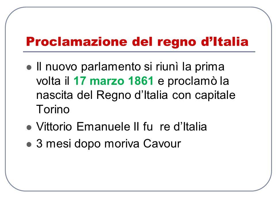Proclamazione del regno d'Italia