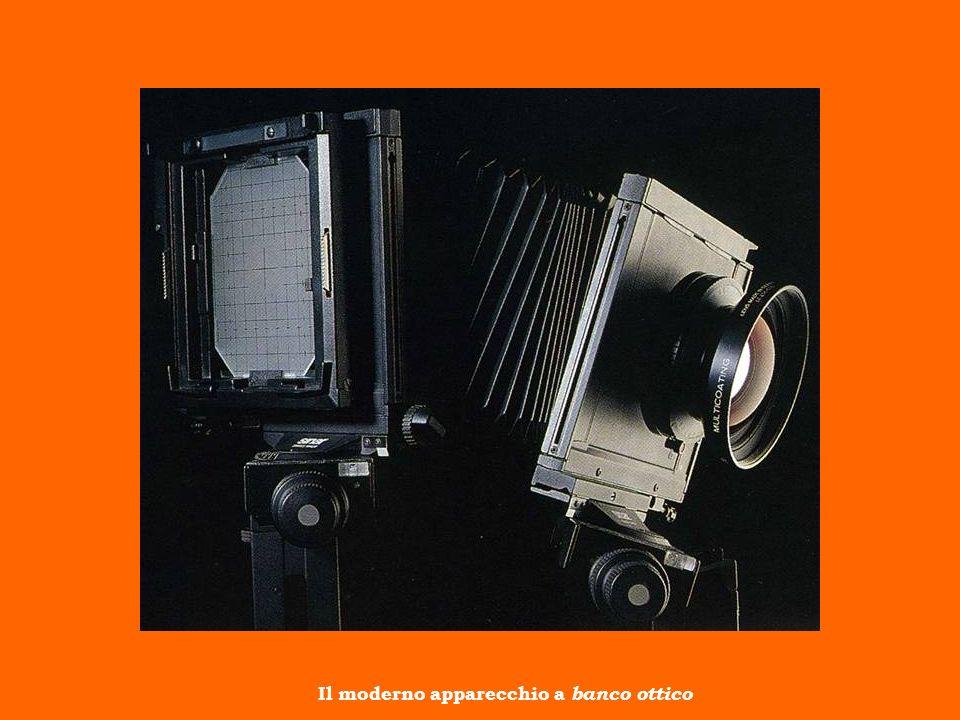 Il moderno apparecchio a banco ottico