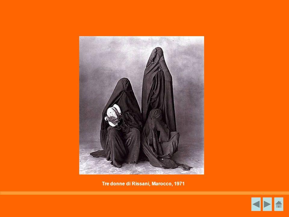 Tre donne di Rissani, Marocco, 1971
