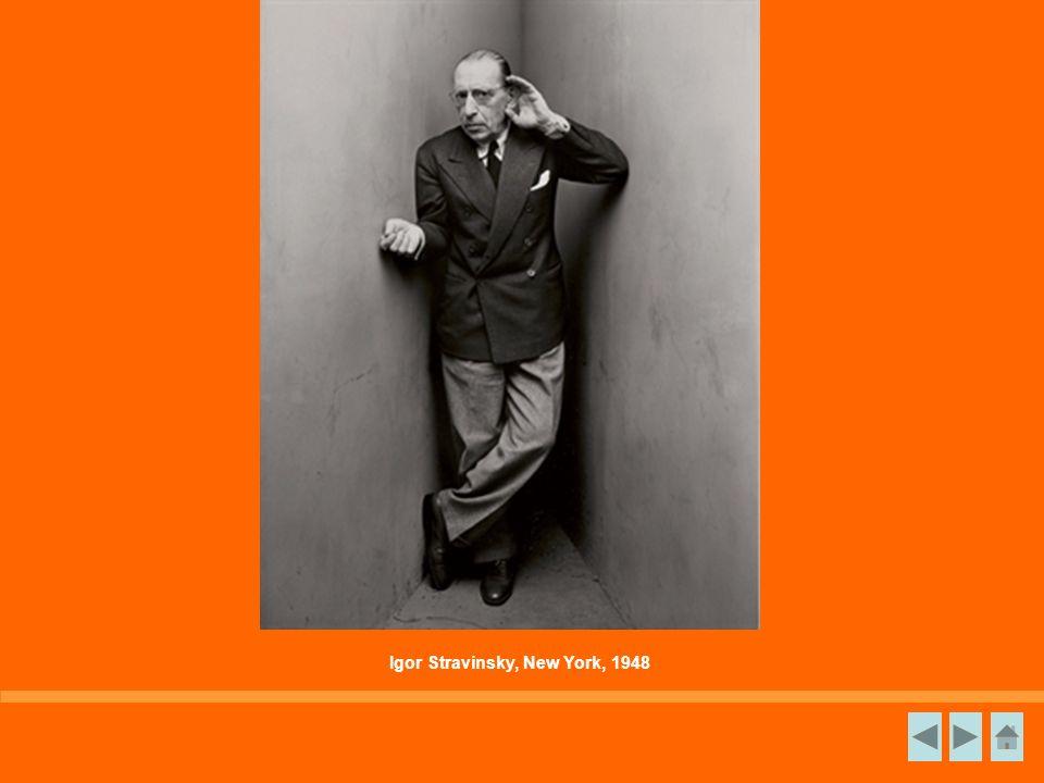 Igor Stravinsky, New York, 1948