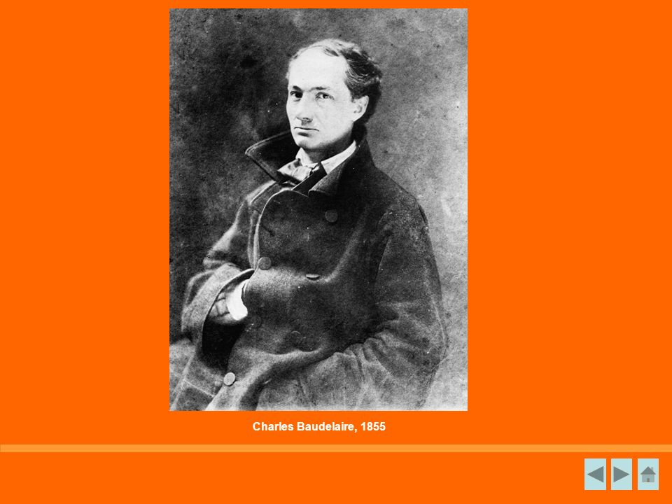 Charles Baudelaire, 1855