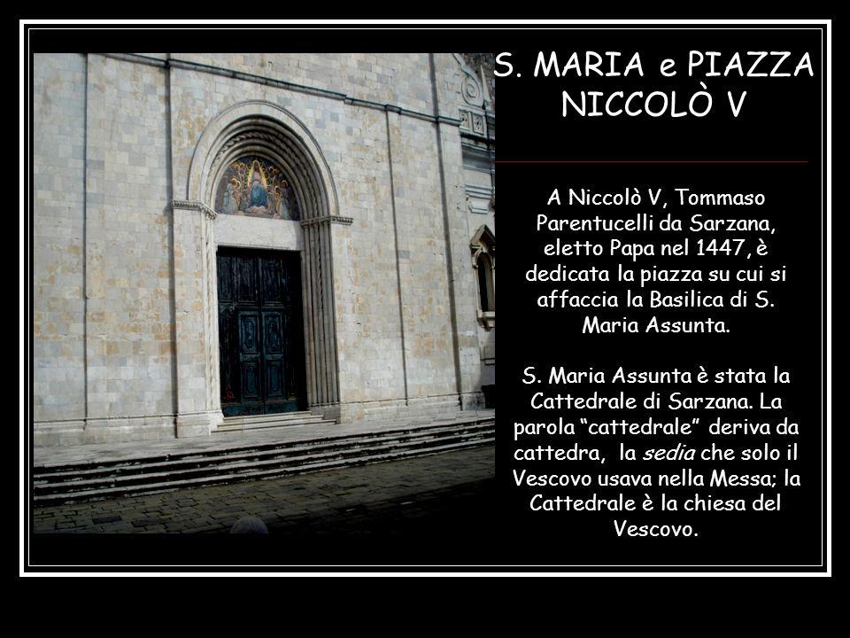 S. MARIA e PIAZZA NICCOLÒ V