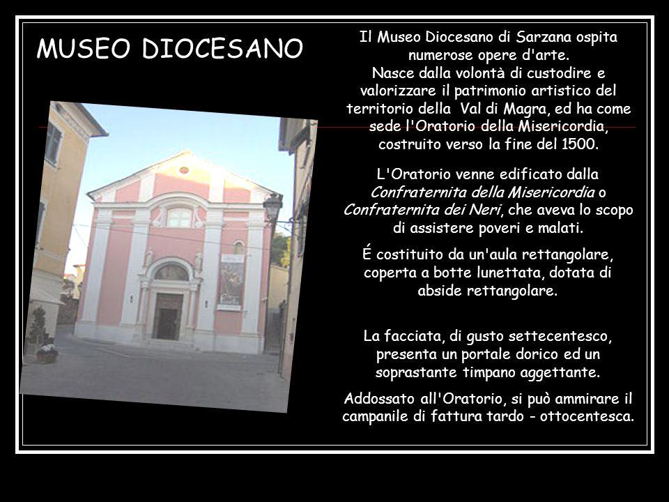 Il Museo Diocesano di Sarzana ospita numerose opere d arte.