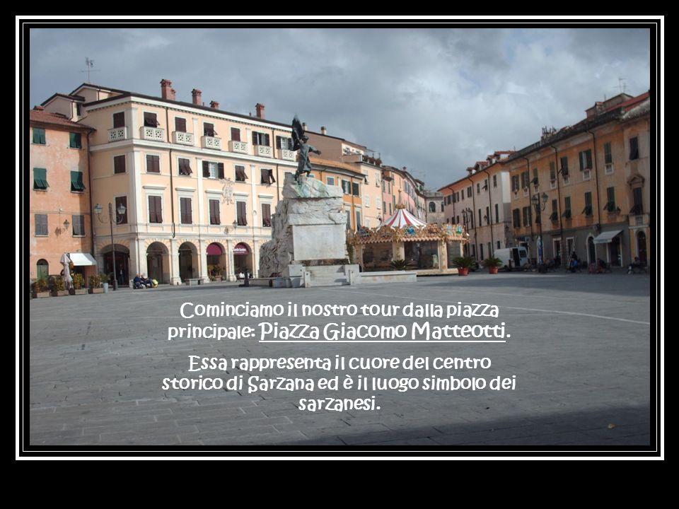 Cominciamo il nostro tour dalla piazza principale: Piazza Giacomo Matteotti.