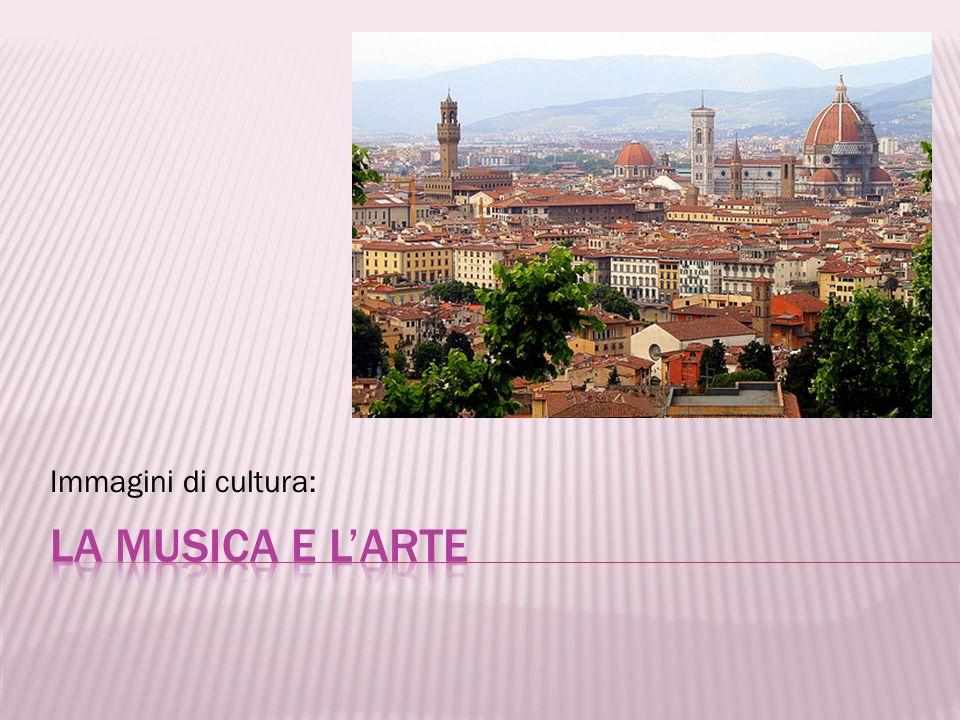 Immagini di cultura: La musica e l'arte