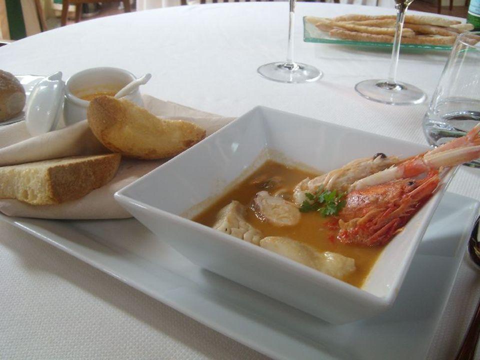 la zuppa di pesce La zuppa di pesce-Abruzzo