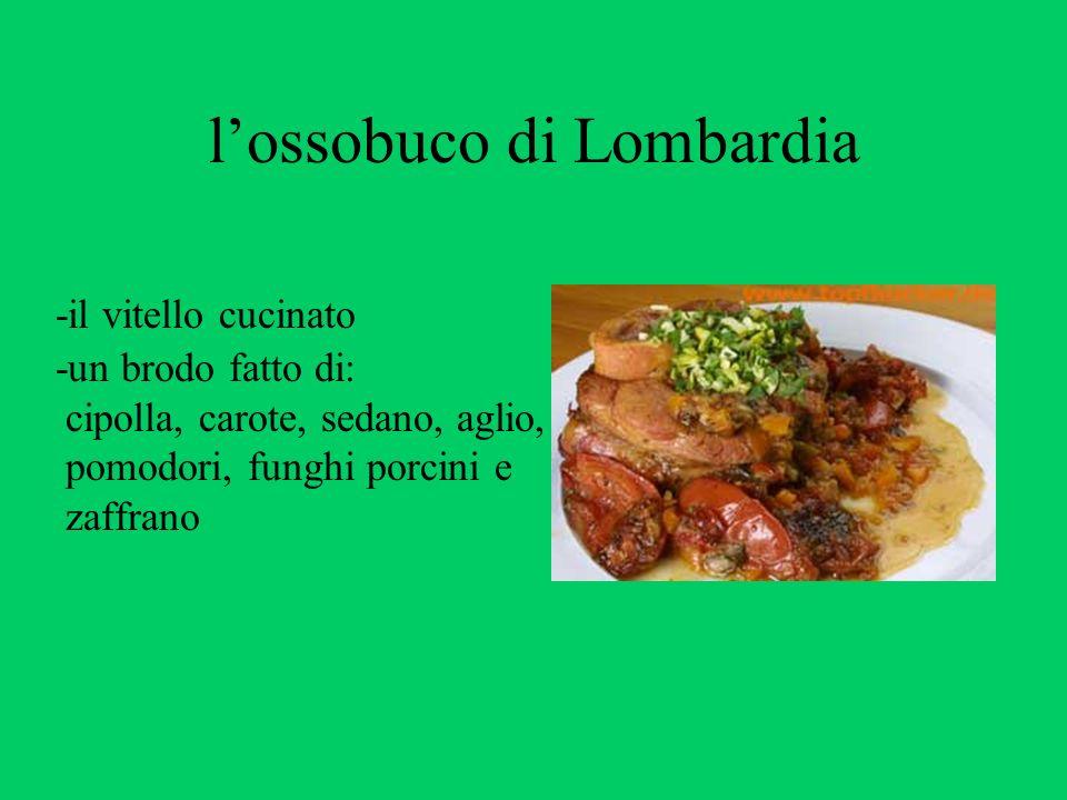 l'ossobuco di Lombardia