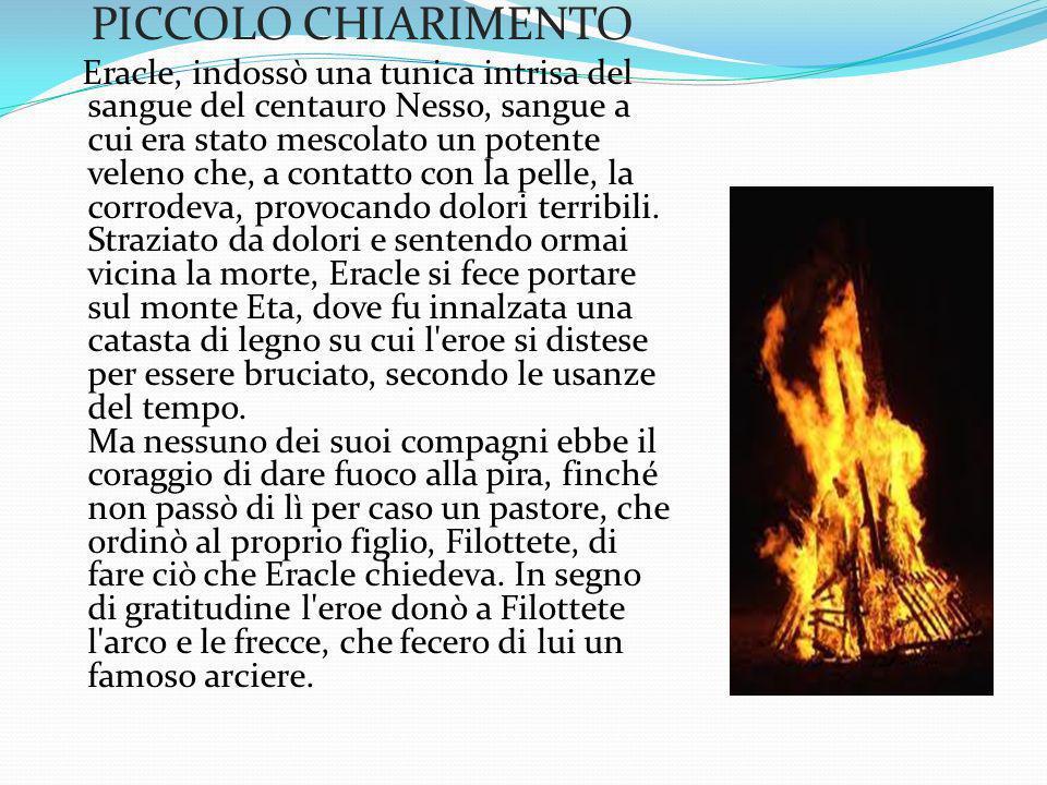 PICCOLO CHIARIMENTO
