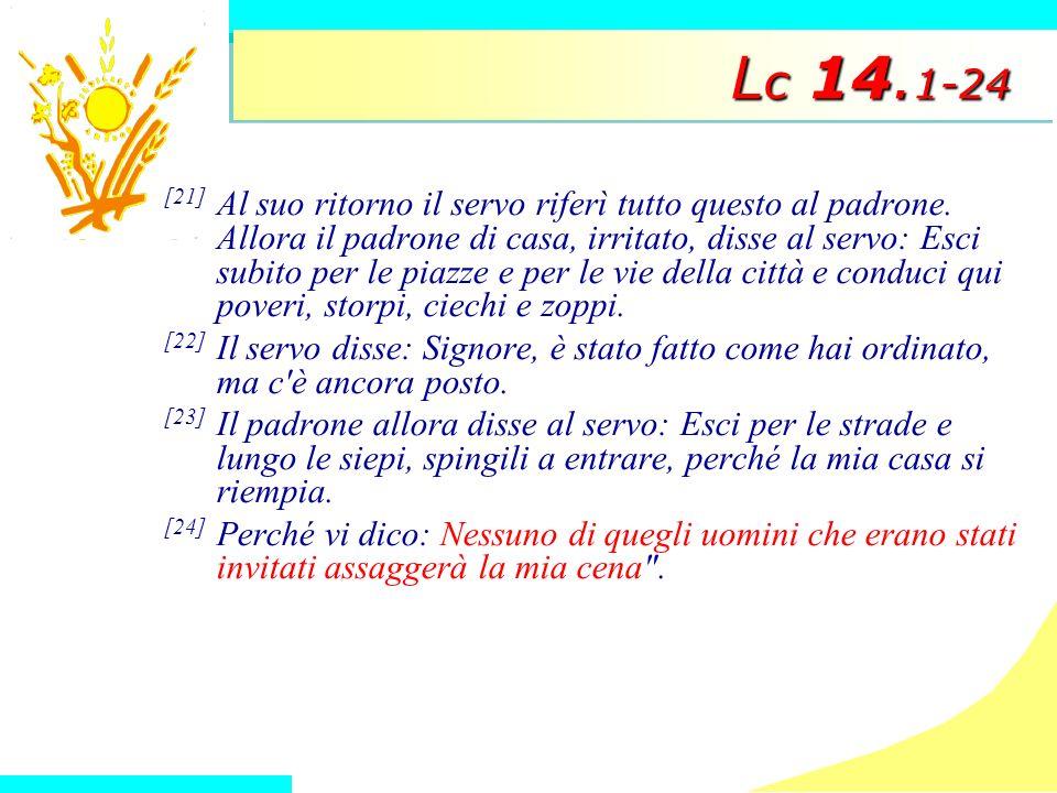 Lc 14.1-24