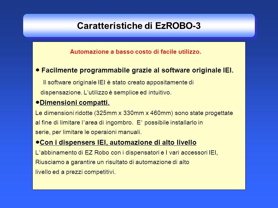 Caratteristiche di EzROBO-3