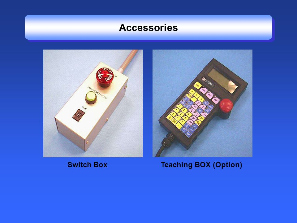 Accessories Switch Box Teaching BOX (Option)