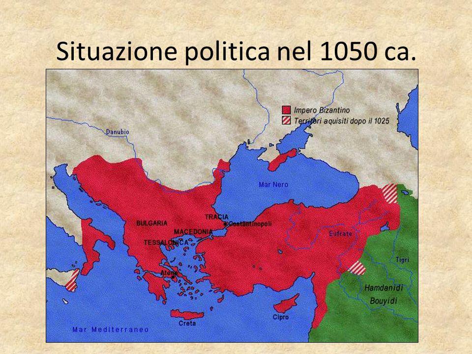 Situazione politica nel 1050 ca.