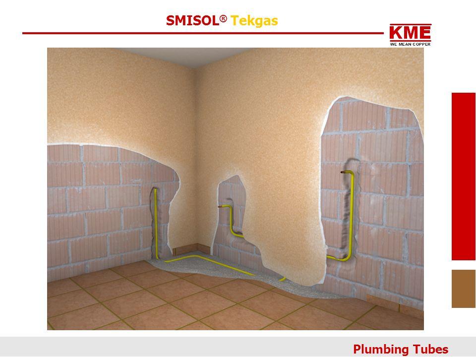 SMISOL® Tekgas Plumbing Tubes