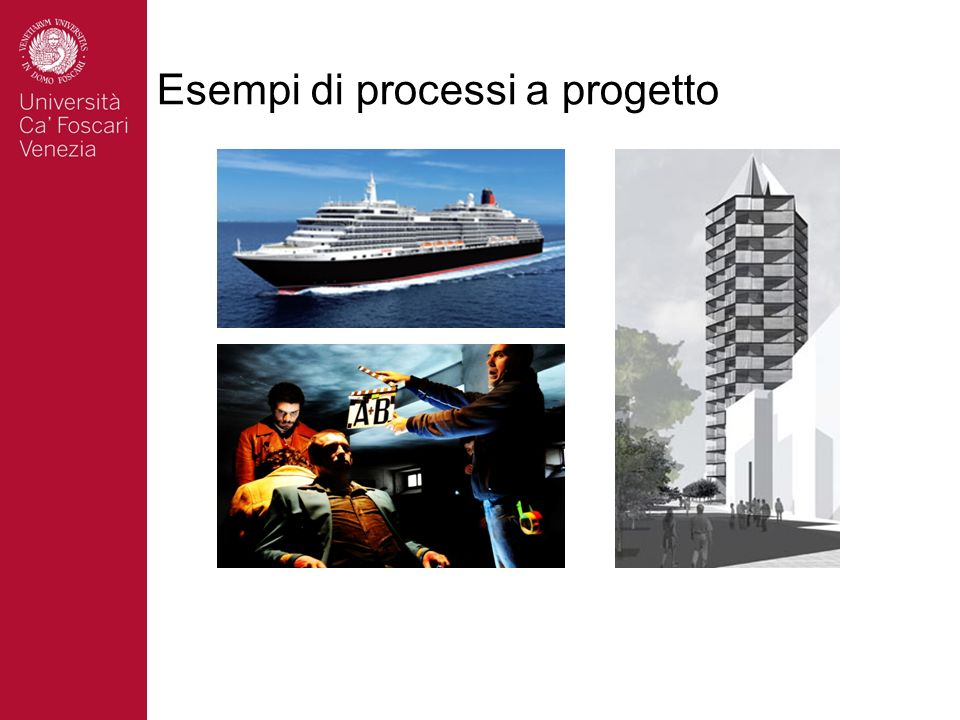 Esempi di processi a progetto