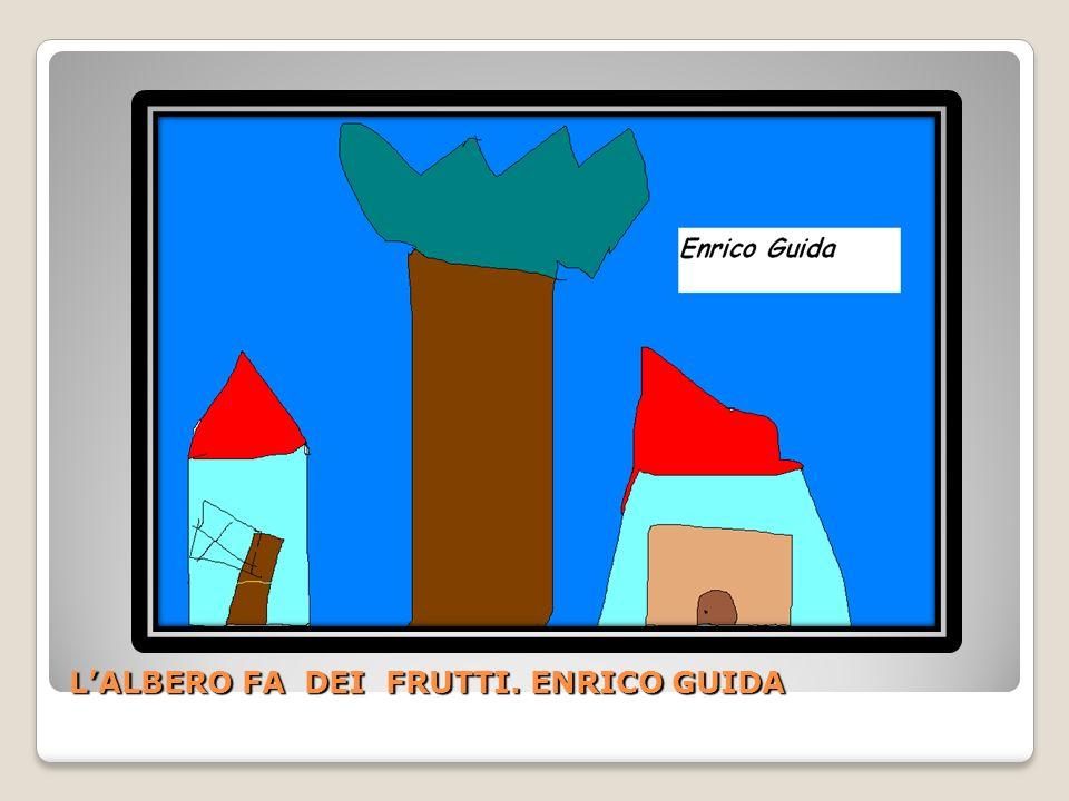 L'ALBERO FA DEI FRUTTI. ENRICO GUIDA