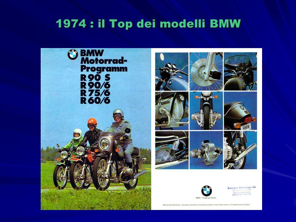 1974 : il Top dei modelli BMW