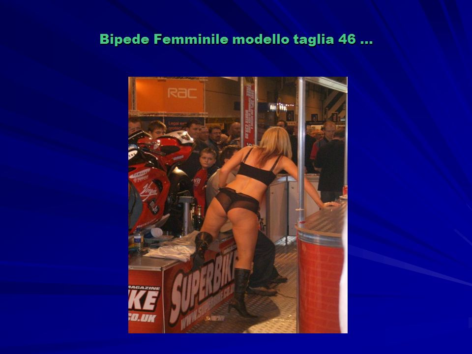 Bipede Femminile modello taglia 46 …