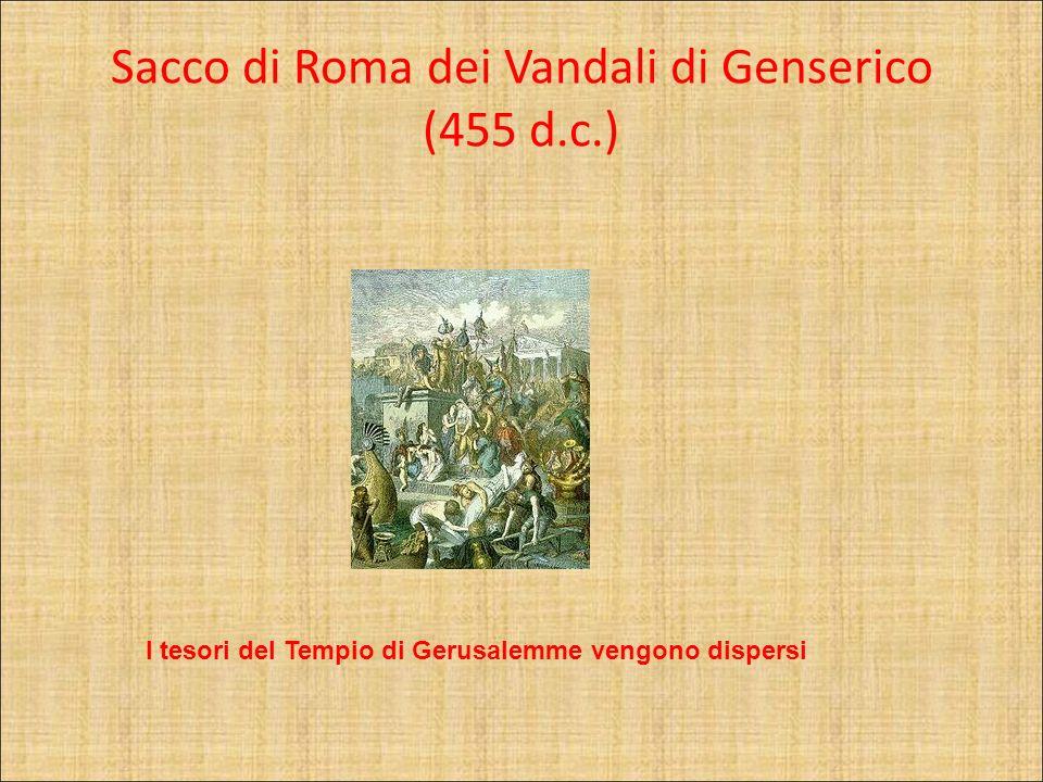 Sacco di Roma dei Vandali di Genserico (455 d.c.)