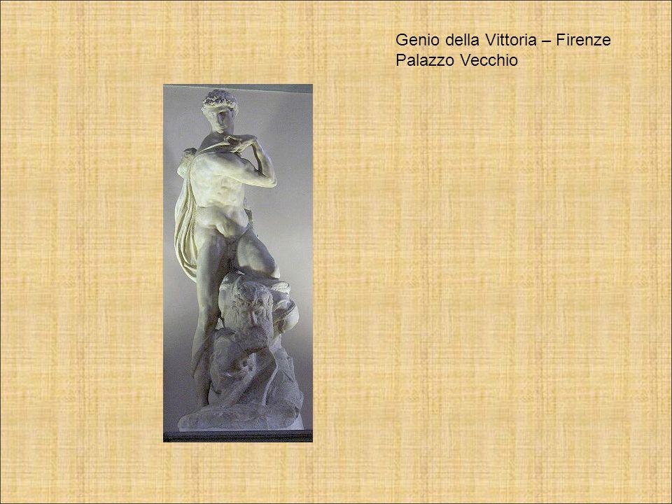Genio della Vittoria – Firenze Palazzo Vecchio