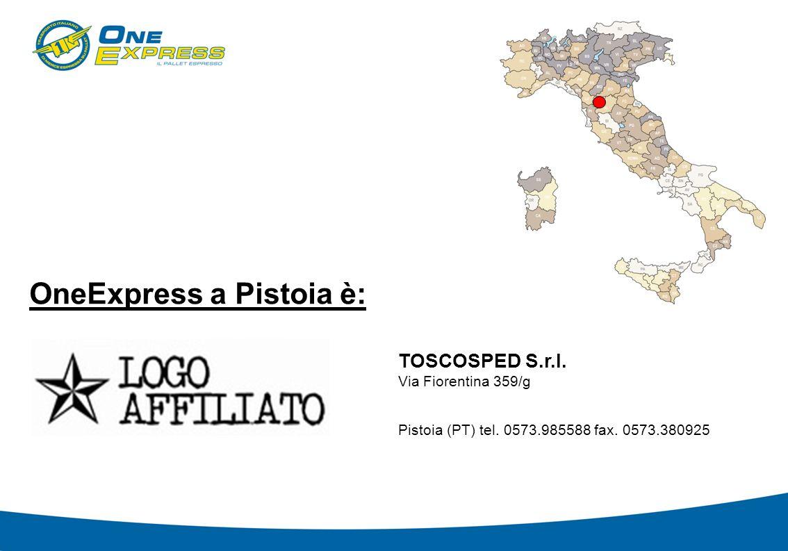 OneExpress a Pistoia è: