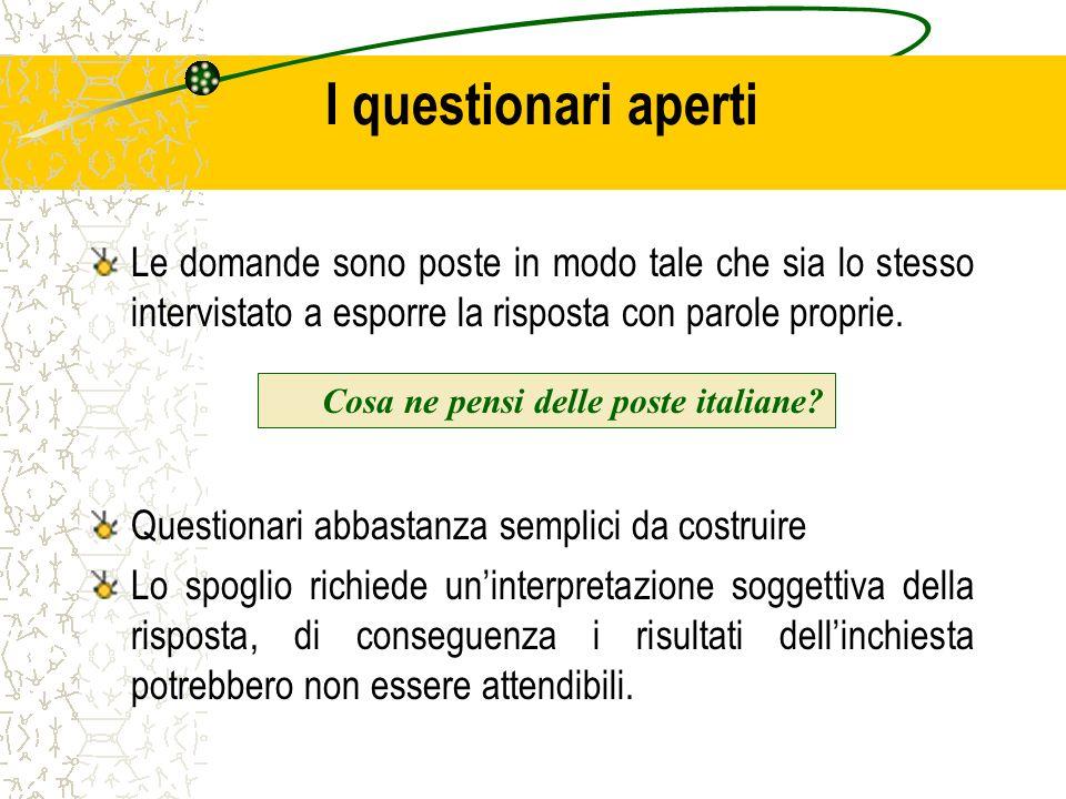 Cosa ne pensi delle poste italiane