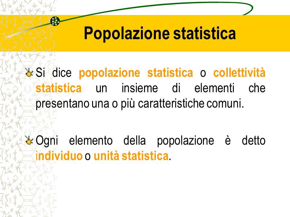 Popolazione statistica