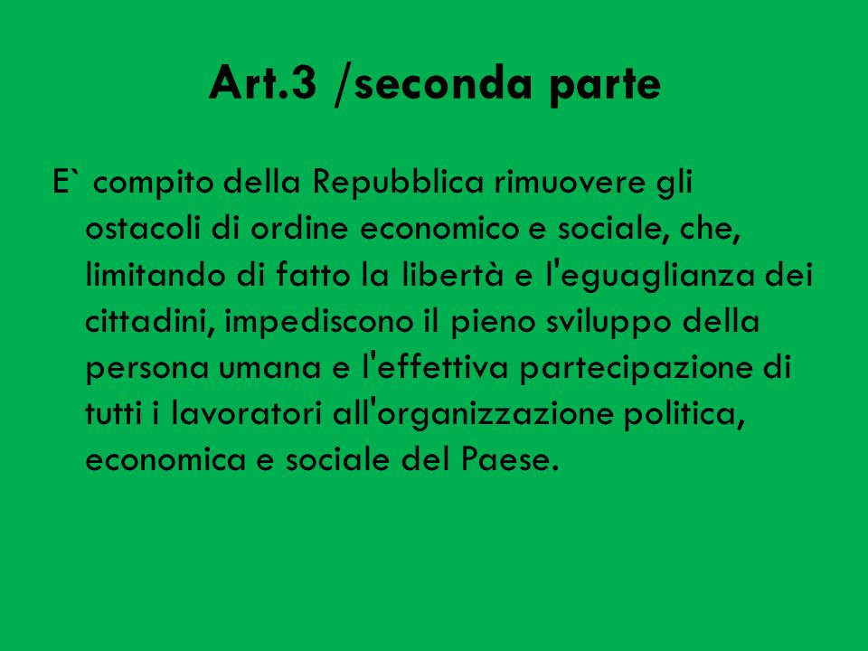 Art.3 /seconda parte