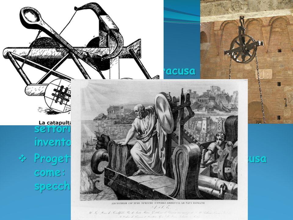 Vita ed opere Archimede nacque a Siracusa nel 287 a.C. e morì nel 212 a.C.