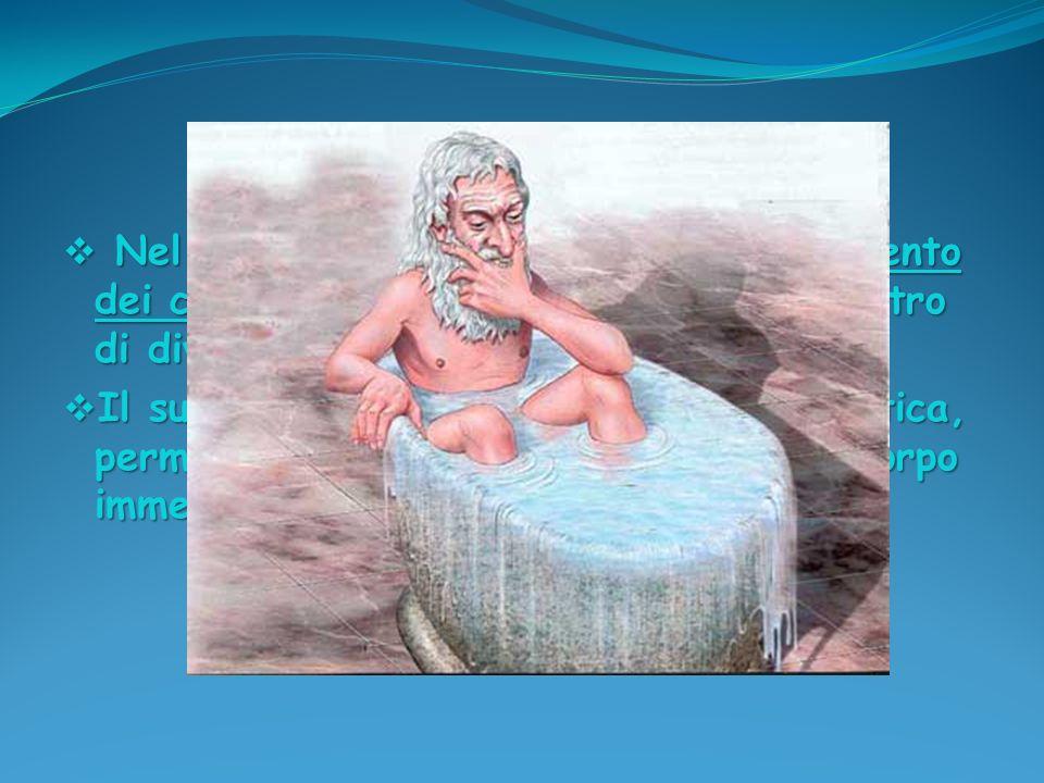 Nel trattato di statica: Sul galleggiamento dei corpi definì la posizione del baricentro di diverse figure piane e solide.