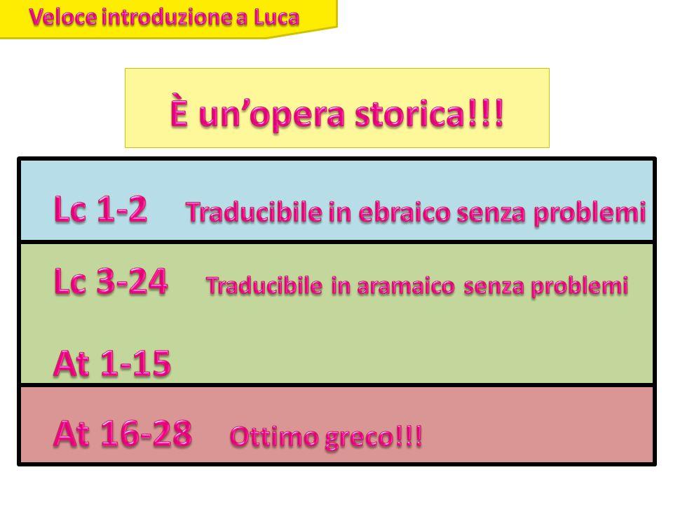 Veloce introduzione a Luca