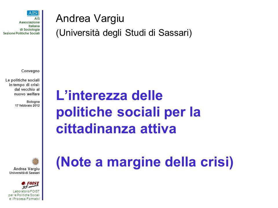 Andrea Vargiu (Università degli Studi di Sassari)