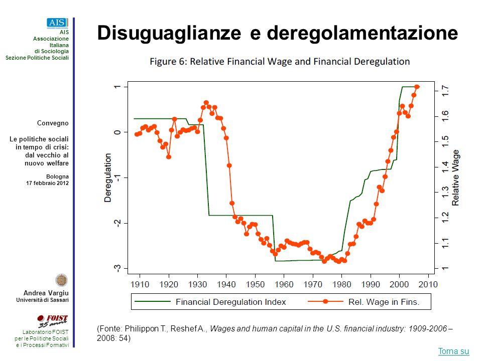 Disuguaglianze e deregolamentazione