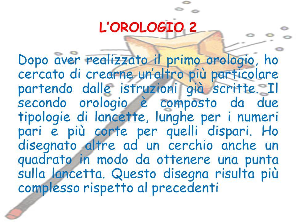 L'OROLOGIO 2