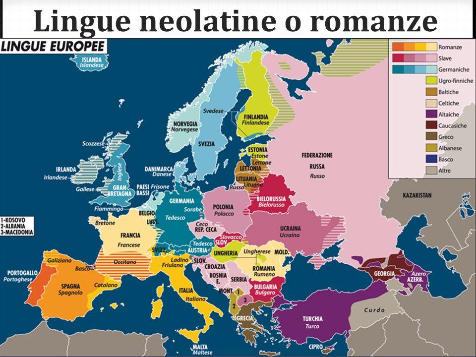 Lingue neolatine o romanze