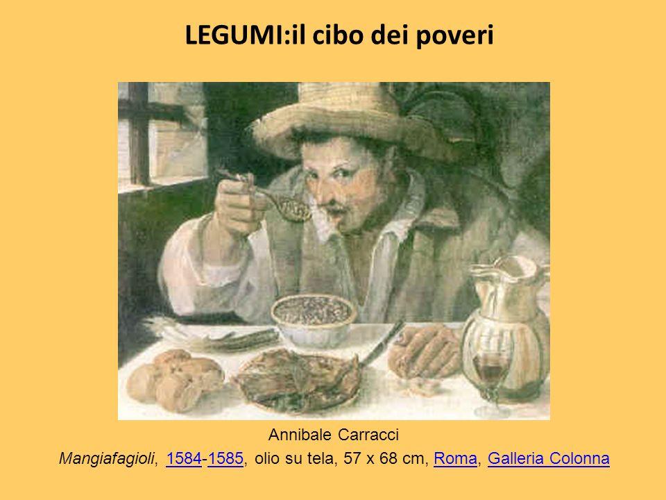 LEGUMI:il cibo dei poveri