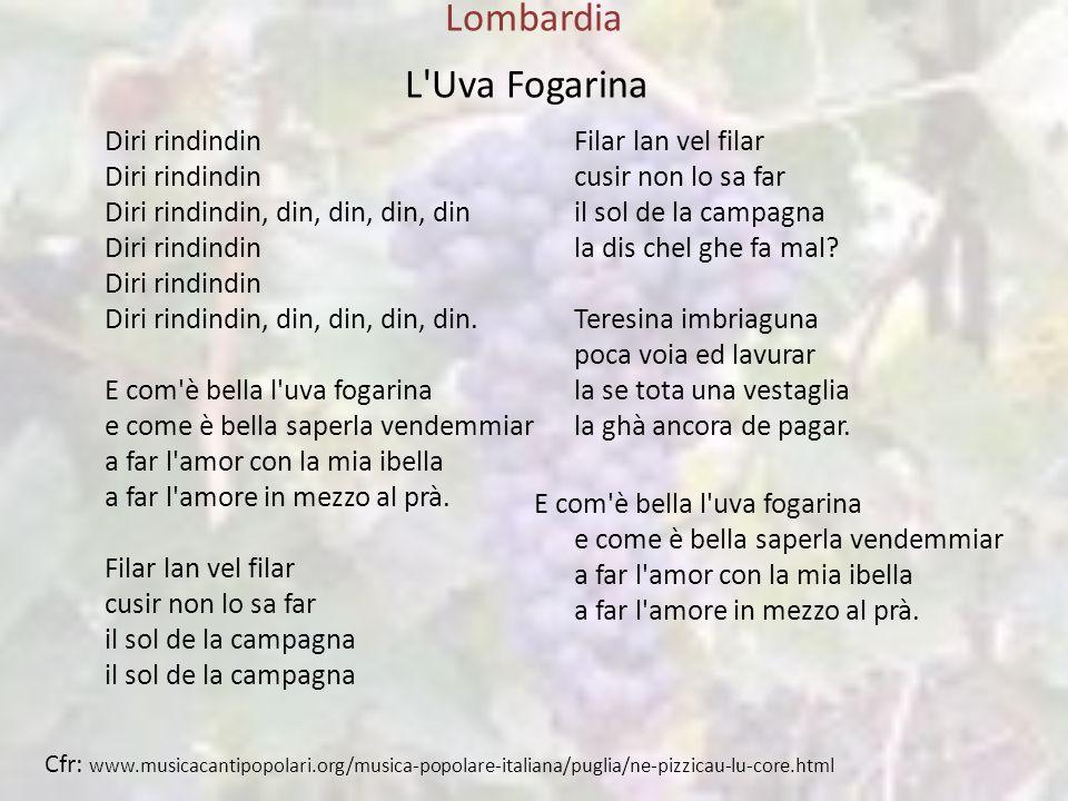 Lombardia L Uva Fogarina