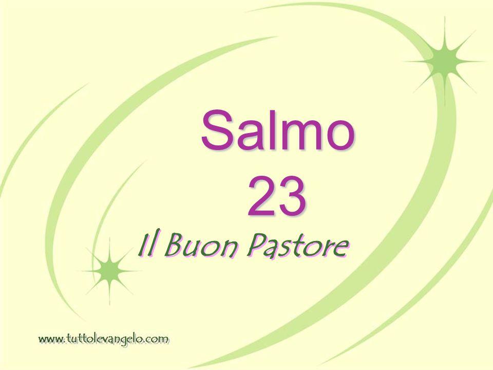 Salmo 23 Il Buon Pastore