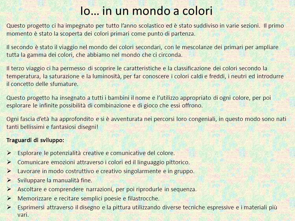 Io… in un mondo a colori