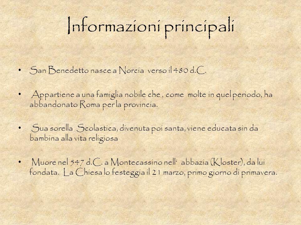 Informazioni principali